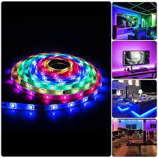 1 5M 30/60 Đèn LED/M 2811 Điểm Ảnh Có Thể Lập Trình Addressable Dây ĐÈN LED  12V WS2811 5050 RGB ĐÈN LED Băng Neon Đèn Ước Mơ Đổi Màu|LED Strips