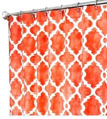 orange fabric shower curtain fabric shower curtains salmon