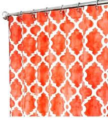 orange fabric shower curtain fabric shower curtains salmon