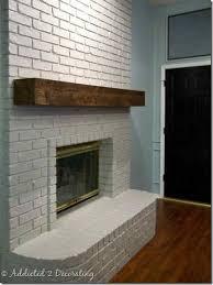 brick fireplace mantels. Rough Hewn Wood Fireplace Mantel Brick Mantels O