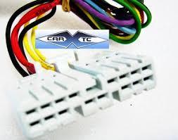 honda civic 85 1985 factory car stereo wiring installation harness Stereo Wire Harness for Honda CRX at Honda Factory Wire Harness