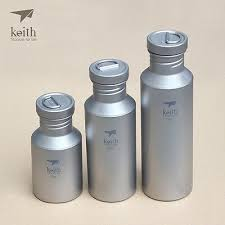 <b>Keith Titanium</b> Cycling Camping Ultralight Insulation Water Bottle ...