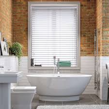 blinds for bathroom window. There Are Some Fabulous And Realistic Looking Faux Wood Blinds Available Which Have The Look Of Real But Suitable For Bathrooms Kitchens. Bathroom Window C