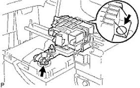 prius you access the main power fuse under the hood blew cables graphic