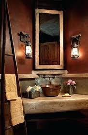 rustic master bathroom designs. Rustic Bathroom Design Designs Showers White Table And Brown Wall Washbowl Flower Vase Master Bath