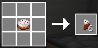 cake minecraft recipe. Crafting Recipe. Cake Slice Stacks Up To 16. And It\u0027s Totally Portable! Minecraft Recipe T