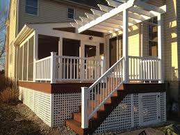 Captivating Home Exterior Design Showcasing Screened In Porch - Home exterior design ideas