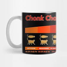 Chonk Chart Poster Fat Cat Meme Chonk Chart Funny Pet Lover Gift By Dankfutura
