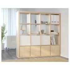 kallax shelf unit  birch effect  ikea