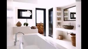 Luxus Badezimmer Einrichtung Holz Braun Weiß Mediterran Stil Youtube