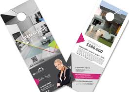 door hanger design real estate. Real Estate Door Hanger Template | Realtor Design A