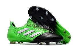 adidas ace 17 1 leather fg green black grey 0