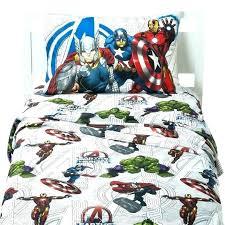 marvel bedding twin