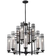 12 light chandelier feiss f2629 8 4af bs ethan antique forged iron aged undefined