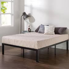 bed without footboard.  Without Queen Metal Platform Bed Inside Without Footboard O