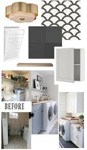 Laundry Room Wallpaper Designs Laundry Room Makeover With Tempaper Removable Wallpaper And