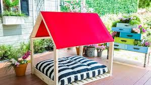 diy outdoor dog bed