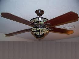 magnificent stained glass ceiling fan of light kit inside fancy fans with about home and furniture