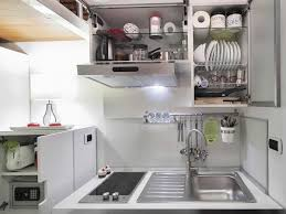 Compact Kitchen Compact Kitchen Tiny House In Rome Home Inspiration