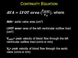 are obtained the continuity equation may be employed