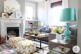 Cheerful And Colored Nautical Living Room