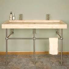 exquisite metal bathroom vanity bases using stainless steel tubingmetal console sink stands