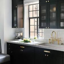 Image Design Ideas Black Kitchen Cabinets With Glass Reeded Doors Decorpad Reeded Frosted Glass Kitchen Cabinets Design Ideas