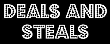 deals and steals banner