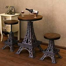 get ations lime wrought iron balcony dining table and chairs cafe lounge bar combination of outdoor wood tea