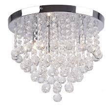 large modern chrome crystal pendant ceiling light lamp chandelier bhs vitra
