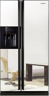 samsung refrigerator with mirror doors