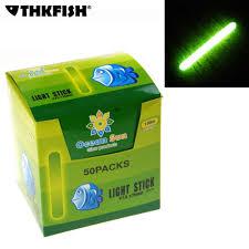 <b>50 Packs</b>/box 4.5X37MM 7.5X75MM <b>Fishing Float</b> Glow Stick ...