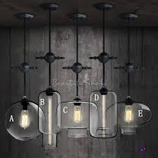 adjule chain industrial colored loft glass chandelier pendant beautifulhalo com