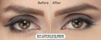 coffee face mask for dark circles and puffy eyes
