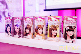 liese the no 1 hair color brand in japan is now in ph