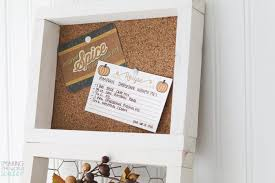 inexpensive gift idea easy diy 3 tiered frame en wire frame cork board