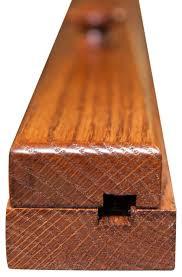wooden oak quilt hanger clamp quilt