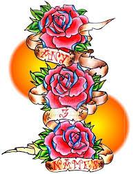 что означает тату роза у девушек и мужчин тату черная белая
