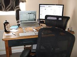 home office ergonomics. home office command centre by zach beauvais via flickr creative commons cc bysa 20 ergonomics h