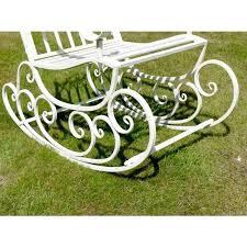 iron rocking bench avenue wrought iron garden rocking chair black country avenue wrought iron garden rocking