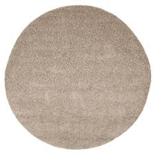 lavish home taupe 8 ft x 8 ft round indoor outdoor area