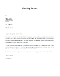 notice of violation template warning letter template discipline violation warning letter download