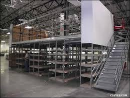 warehouse mezzanine modular office. Floor Level Warehouse Storage Area Mezzanine Modular Office