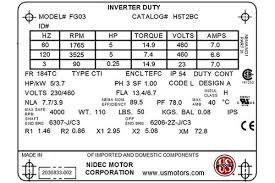 Standard Motor Kw Ratings Chart How Do You Size A Vfd Flow Control Network