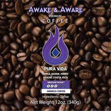 By traveling the globe sourcing the world's best coffees, and meticulously roasting every batch, java pura has built a passionately loyal following over the past decade. Pura Vida Coffee Awake Aware