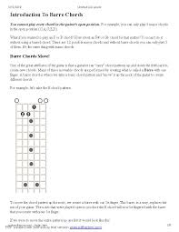 Guitar Chords Chart With Fingers Example Complete Guitar Chord Chart Pdf Format E