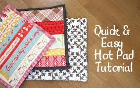 Holiday Sew Along: Pot Holder Tutorial - Diary of a Quilter - a ... & So today I thought I'd share three quick and easy variations for making hot  pads for a useful Christmas gift. Adamdwight.com