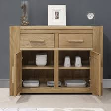 Oak Furniture Living Room Trend Solid Oak Small 2 Door Sideboard Oak Furniture Uk