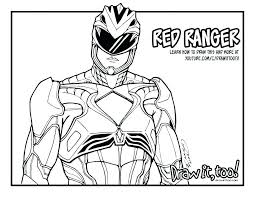 Red Power Ranger Coloring Page Beautiful 30 Mighty Morphin Power