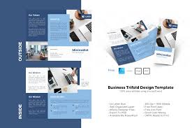 If it's only free for personal use, you will need to buy the font in order to use it in commercial projects. Company Trifold Brochure Design Template Graphic By Rivatxfz Creative Fabrica